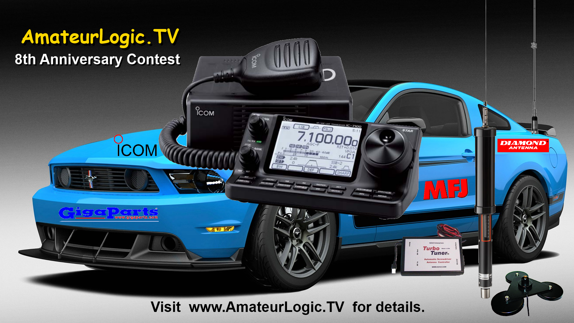 AmateurLogic.TV 8th Anniversary Contest