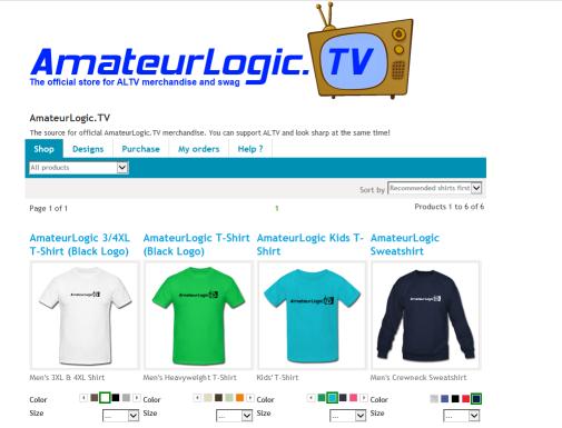 ALTV T-Shirt Shop